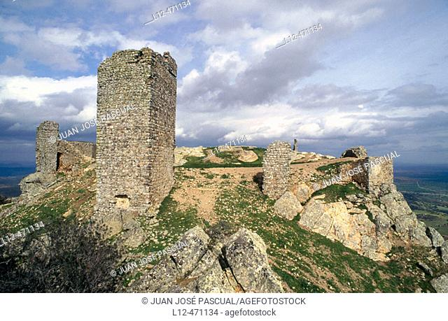 Castillo de Miramontes, Santa Eufemia, Córdoba province, Spain
