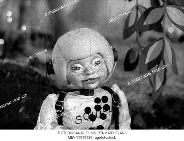 Torchy the Battery Boy (1957) TV series , Series One, Episode Five, Torchy and the Broken Rocket , Squish the Spaceboy