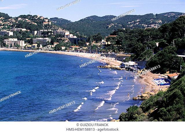 France, Var, Bandol, beach