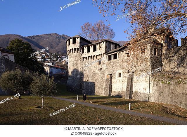 Castello Visconteo (Visconteo Castle). Locarno, Switzerland