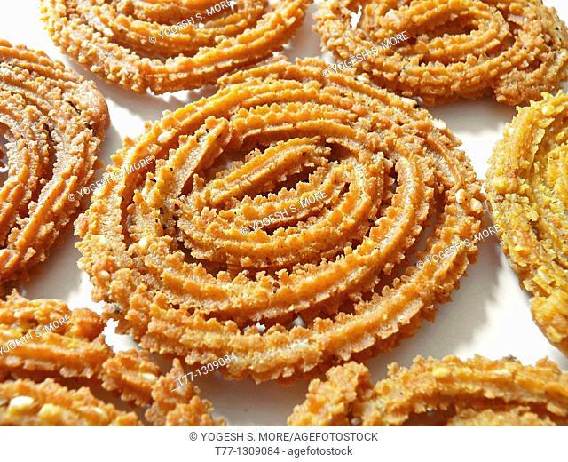 Chakri, Murukku, Chakli, Famous Crunchy Snack in India