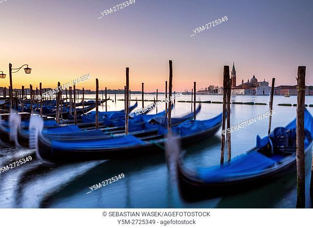 Grand Canal at Venice, Veneto, Italy, Europe