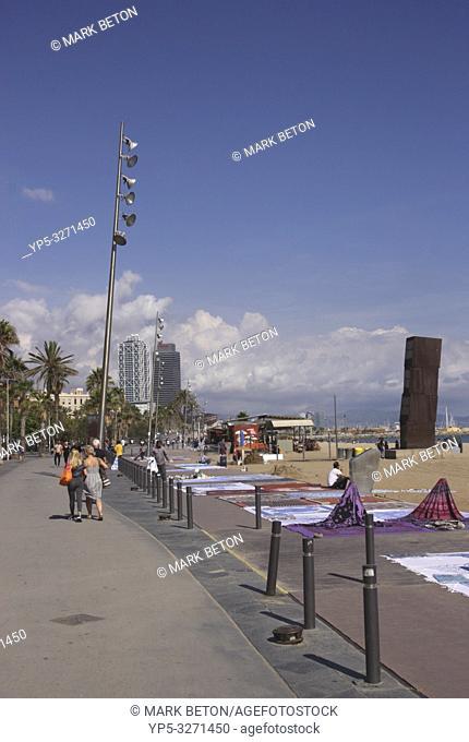 Barceloneta beach Barcelona Spain