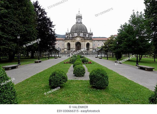 Basilica of Loiola in Azpeitia (Spain). Baroque architecture