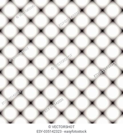 Squares with grayscale fills, repeatable pattern. Vector art