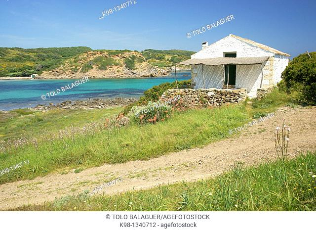 Cala de Sa Torre, Natural Parc Albufera des Grau Menorca Biosphere Reserve Islass Baleares Spain