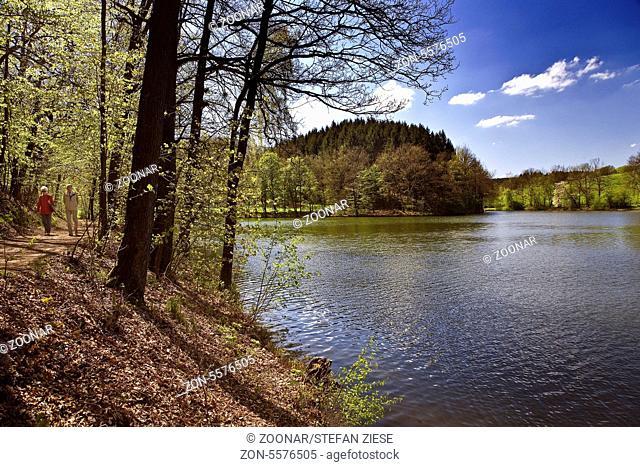 Barage at Heilenbeck, Ennepetal, Germany