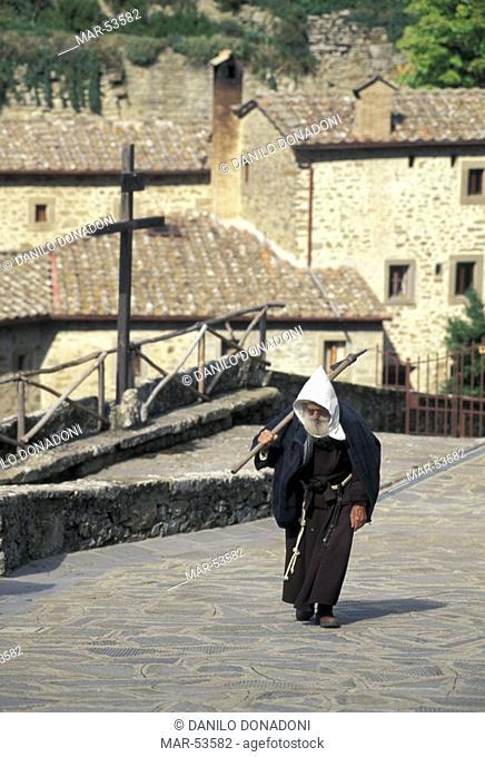 celle convent, cortona, italy