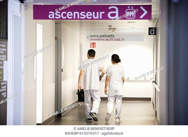 Reportage in a hospital in Savoie, France