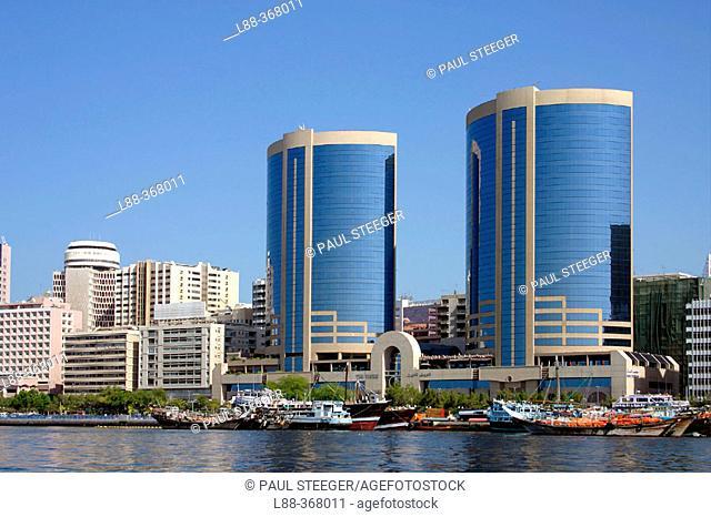 'Twin Towers' shopping center. Dubai City. Dubai. United Arab Emirates