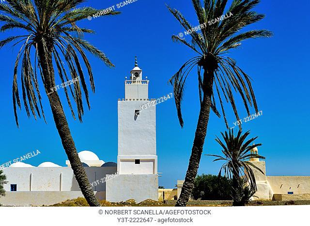Africa, North Africa, Maghreb, Djerba island. Guellala. Mosque