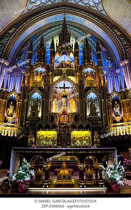 Notre Dame Chapel at Montreal
