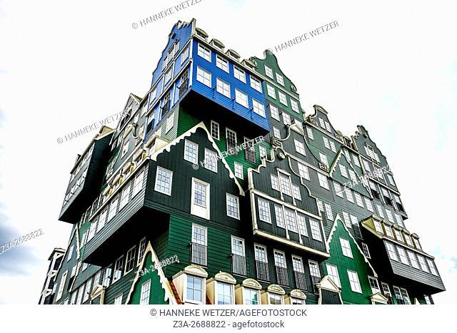 "Inntel Hotel Amsterdam Zaandam â. "" A Real Life Gingerbread House, the Netherlands"