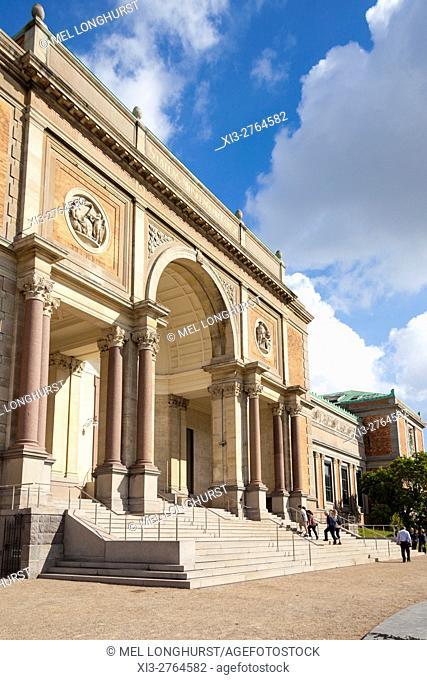 Statens Museum For Kunst, National Gallery, Solvgade, Copenhagen, Denmark