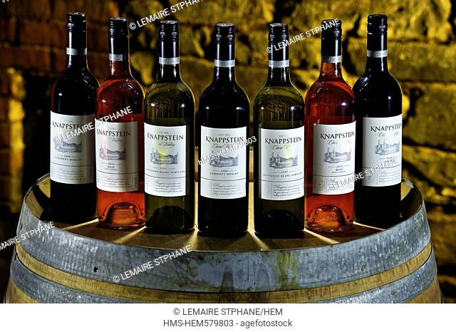 Australia, South Australia, La Clare Valley, Knappstein wines of which the first winery was created in 1878
