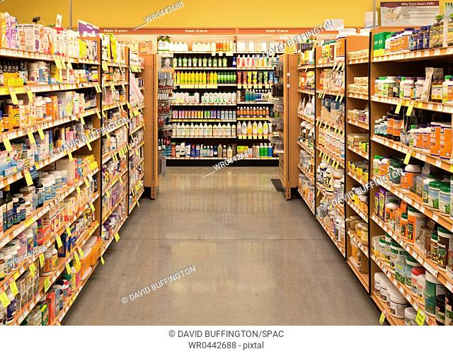 Vitamin and Supplement Aisle