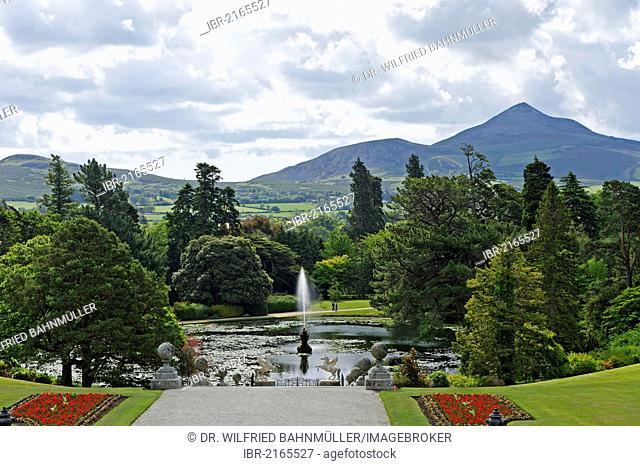 Big Sugar Loaf, 501 meters, Powerscourt Estate, Wicklow Mountains, Enniskerry, County Wicklow, Ireland, Europe