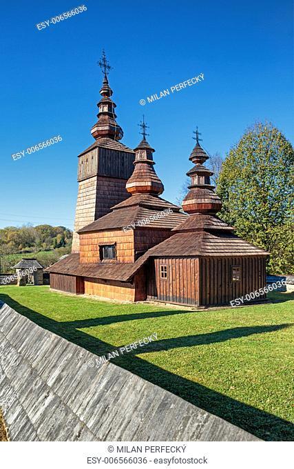 Wooden church of St. Paraskeva - Potoky