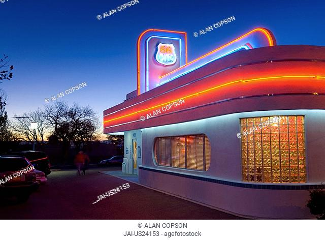 USA, New Mexico, Albuquerque, Route 66 Diner