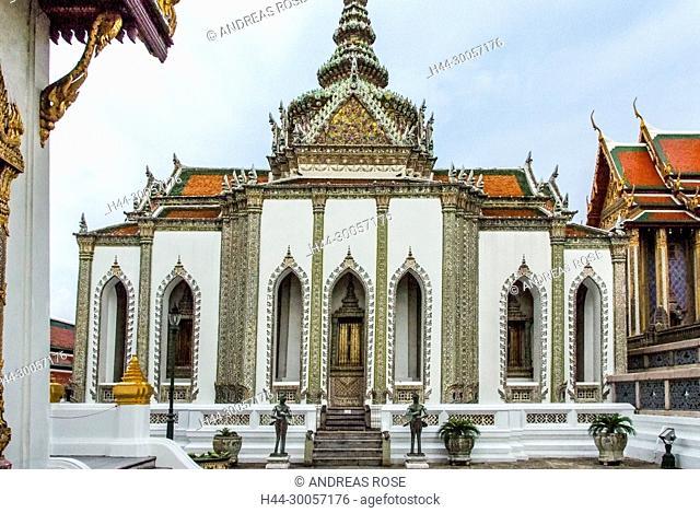 Bangkok, Buddhist temples, Temple of the Emerald Buddha, Thailand, Wat Phra Kaew, Wat Phra Si Rattana Satsadaram