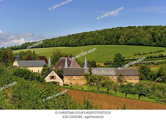village of Elan, near Sedan, Ardennes department, Champagne-Ardenne region of northeasthern France, Europe