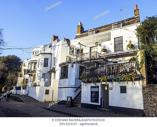 The White Swan pub in Twickenham - London, England