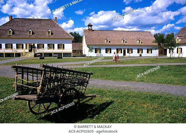 Fort William historical park, Thunder Bay, Ontario, Canada
