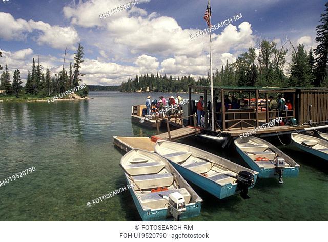 boats, Grand Teton National Park, Jenny Lake, WY, Jackson Hole, Wyoming, Boat rentals on Jenny Lake in Grand Teton Nat'l Park in Wyoming