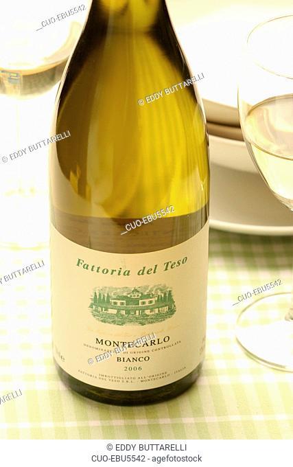 Trebbiano white wine, Tuscany, Italy