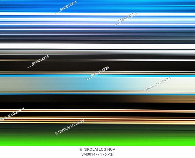 Horizontal vivid motion blur background hd