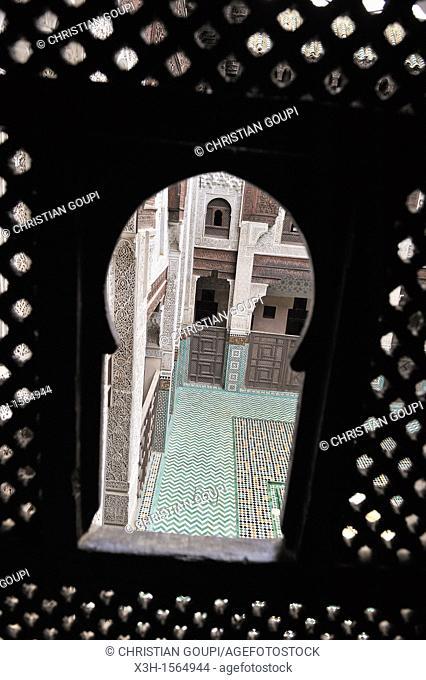 Bou Inania Madrasa, Meknes, Morocco, North Africa