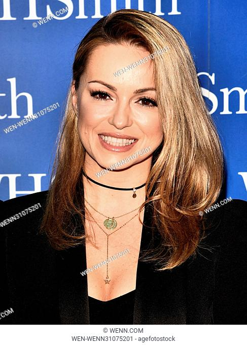 Ola Jordan book signing at WH Smiths Liberty Shopping Centre, Romford, Essex Featuring: Ola Jordan Where: London, United Kingdom When: 24 Feb 2017 Credit: WENN