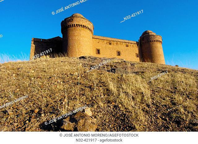 La Calahorra Renaissance castle. Granada province, Andalusia, Spain