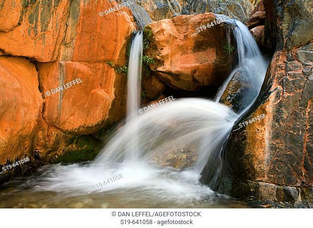 United States, US, Arizona, Grand Canyon National Park, Colorado River, Clear Creek Falls