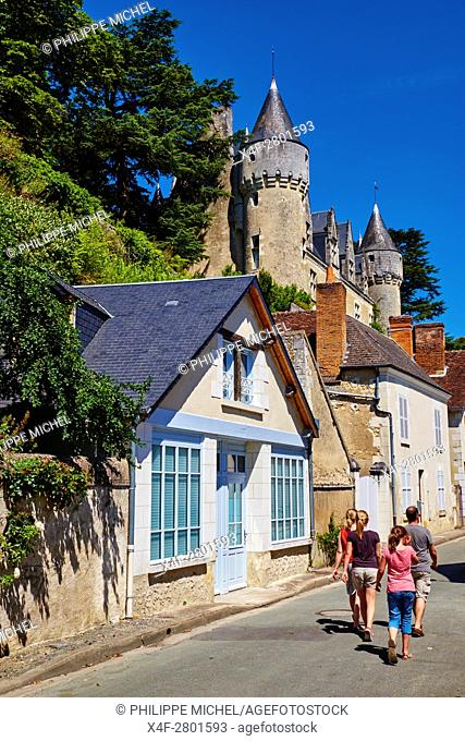 France, Indre-et-Loire (37), Montrésor, classified Les Plus Beaux Villages de France or the Most beautiful villages of France, the castle
