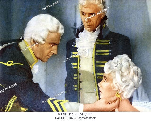 Beau Brummell, aka Beau Brummell - Rebell und Verführer, USA 1954, Regie: Curtis Bernhardt, Darsteller: Stewart Granger, Elizabeth Taylor, Peter Ustinov
