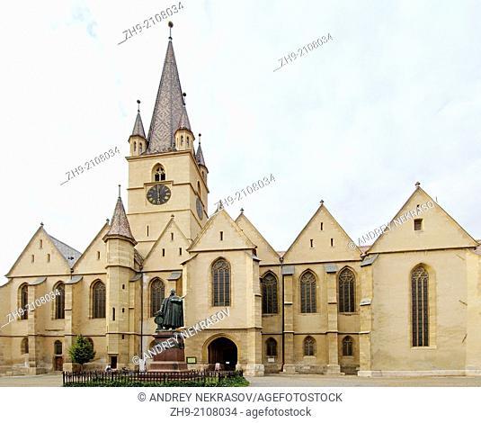 Lutheran Cathedral of Saint Mary, Sibiu, Transylvania, Romania, Europe