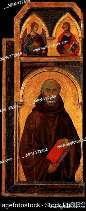 Saint Silvester Gozzolini. Artist: Segna di Buonaventura (Italian, active Siena by 1298-died 1326/31); Date: 1320s; Medium: Tempera on wood