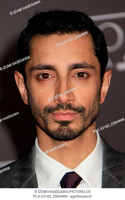 "Riz Ahmed 12/10/2016 The World Premiere of """"Rogue One: A Star Wars Story"""" held at the Pantages Theatre in Los Angeles, CA Photo by Izumi Hasegawa / HNW /..."