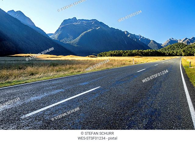 New Zealand, South Island, Fiordland National Park, Te Anau Milford Highway, Eglinton Valley
