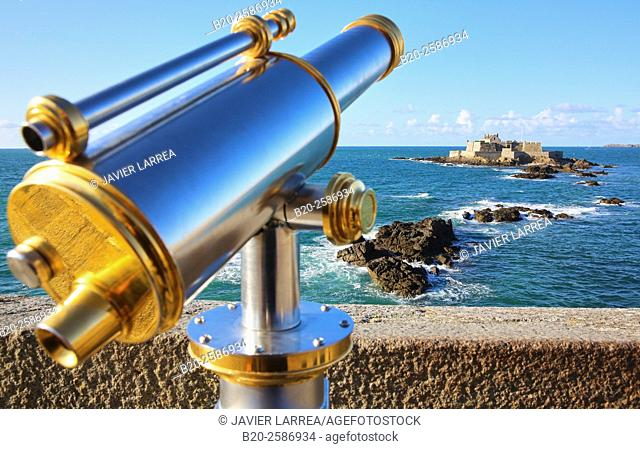 Saint Malo, Emerald Coast, Brittany, Bretagne, France