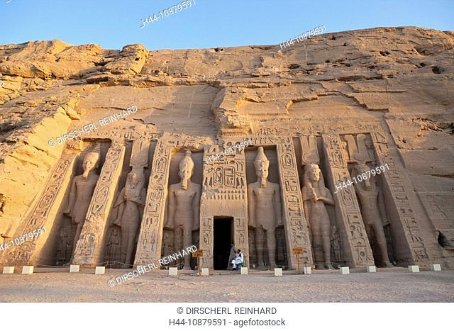 Small Hathor Temple of Nefertari, Abu Simbel, Egypt