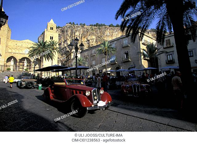 Car, Alfa Romeo club travel, Targa Florio, events, event, Sicily, Italy, vintage car, landscape, scenery