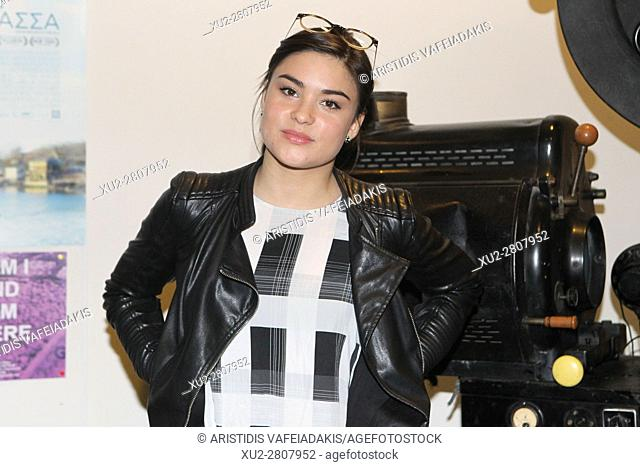 Canadian actress DEVERY JACOBS attends at the 1th Canadian Film Festival in Athens. Devery Jacobs is a Canadian actress who garnered a Canadian Screen Award...