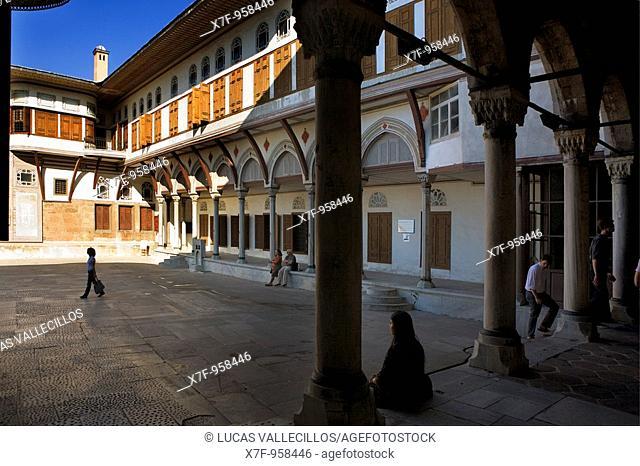 Topkapi Palace, Harem Courtyard of Favourites Istanbul, Turkey