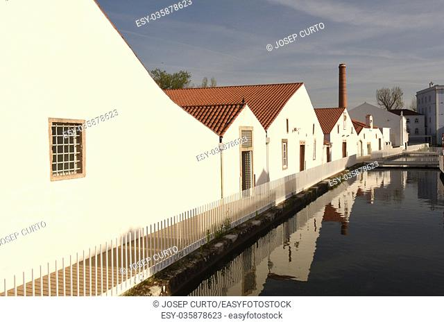 Old paper mills, Tomar, Estremadura,Portugal