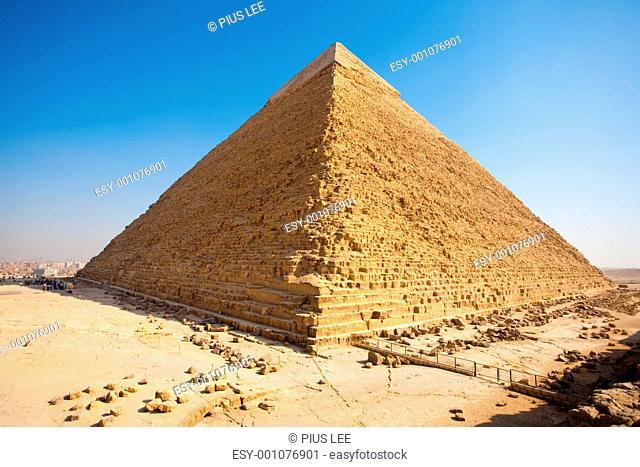 Pyramid Khafre Rear Giza