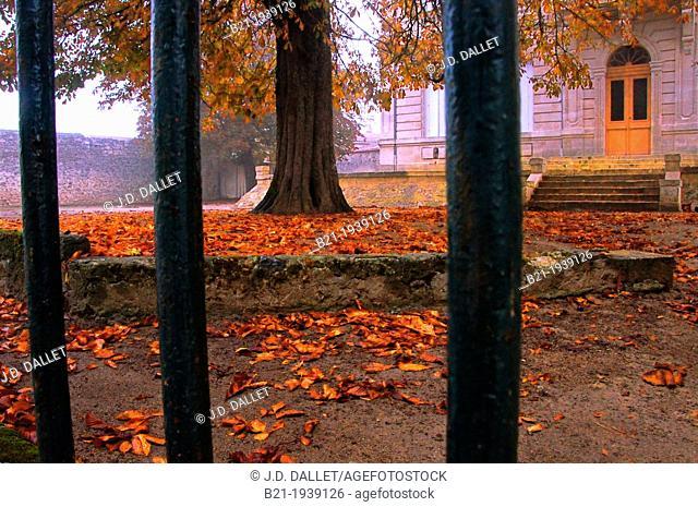 Autumn at Villefranche de Lonchat, Dordogne, Aquitaine, France