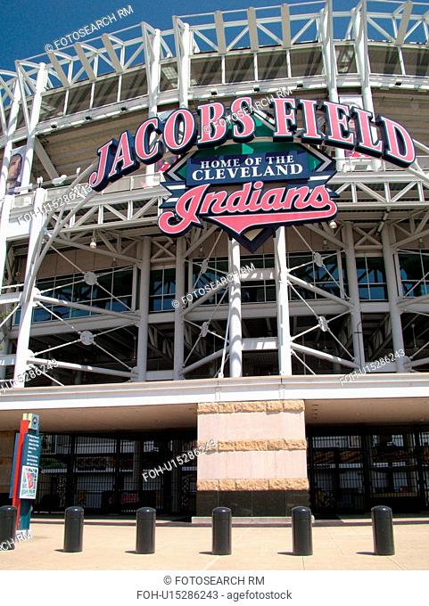 Cleveland, OH, Ohio, Downtown, Jacobs Field, MLB, Baseball, Indians