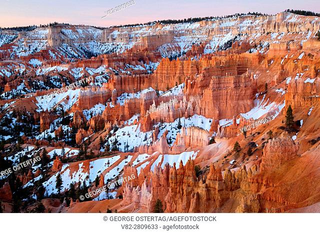 Bryce Canyon from Sunrise Point, Bryce Canyon National Park, Utah